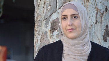 Fajer Hamoud says she was bullied as a work experience teacher for her faith.