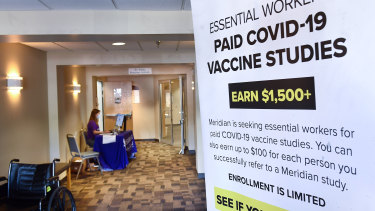 The world's biggest study of a possible COVID-19 vaccine, developed by Moderna and the US National Institutes of Health, gets under way.