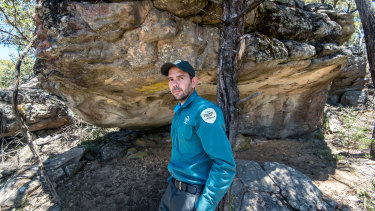 Once a goat hunter, Jake Goodes is now part of efforts to document a new wave of rediscovered rock art in the Grampians.