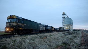 The Murray Rail project is intended to upgrade rail transport in Victoria's west.