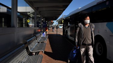 The government is under pressure to introduce masks on public transport.