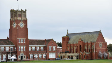 Seventy-eight per cent of students at Geelong Grammar are boarders.