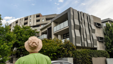 Brunswick's Anstey Square is among the 15 buildings on the leaked list where cladding repairs will be publicly funded.