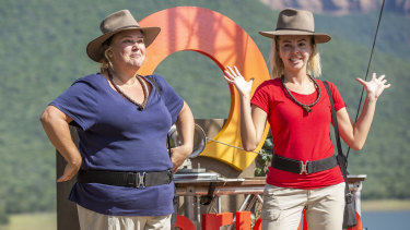 Jones and Kent on I'm a Celebrity ... Get Me Out of Here! in January.