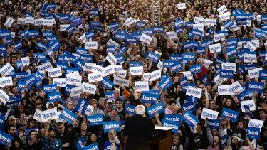Could coronavirus see the end of Bernie Sanders' big election rallies?