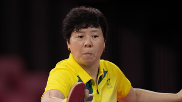 Jian Fang Lay has equalled her best ever Olympic Games appearance by winning through to the third round.