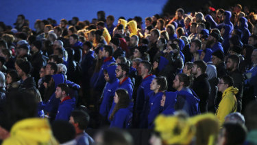Hundreds of Australians participate at the dawn service ceremony at Anzac Cove beach, in Gallipoli each year.