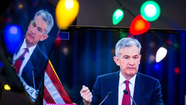 Policy mistake? Jerome Powell, chairman of the Federal Reserve Bank.