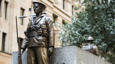 A man has been charged with damaging the Martin Place Cenotaph.