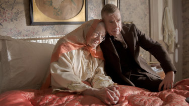 Vanessa Redgrave and Timothy Spall in Mrs Lowry and Son.