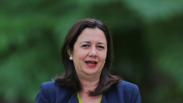Queensland Premier Annastacia Palaszczuk said she has the support of her state behind her.