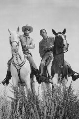 The Lone Ranger and his Native America friend, Tonto.