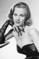 Honor Blackman, circa 1960.