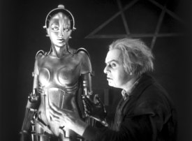 Fritz Lang's film Metropolis is about re-creation, but does that mean the medium is about re-creation?
