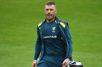 Aaron Finch is glad for the return of cricket.