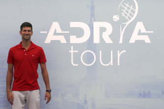 Novak Djokovic has announced a private tennis tournament while the sport in suspended.