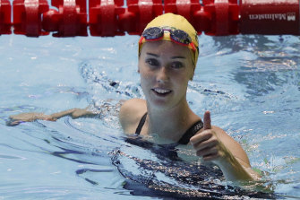 Emma McKeon was in great form at the Sydney Open.