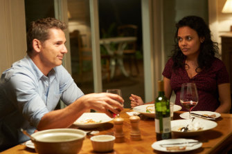 Eric Bana and Miranda Tapsell in The Dry. Set in regional Australia, the film has been a massive hit. But with a rebate of only 30 per cent,  director/producer Robert Connolly has said, it might never have been made.