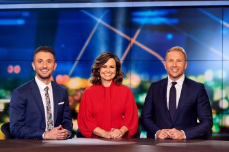Hamish Macdonald rejoins 10 as co-host of The Sunday Project with Lisa Wilkinson and Tommy Little.
