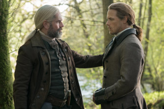 'More about family ... and the clan': Outlander season five grows roots in North Carolina.