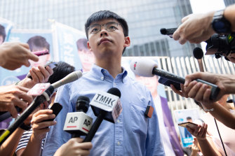 Hong Kong protest leader Joshua Wong tells his story for the first time in Unfree Speech.