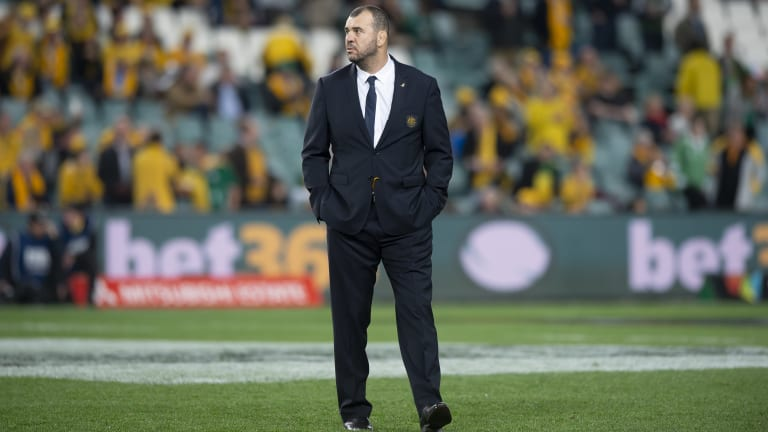 Under siege: Michael Cheika is coming under fire at home and abroad
