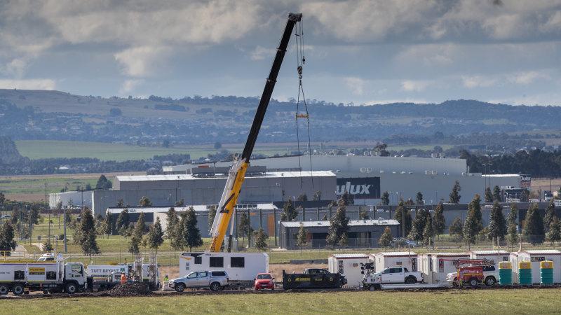 Australischer Staat beginnt mit dem Bau eines Covid-Quarantänelagers