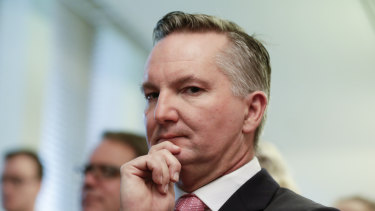 Chris Bowen is championing Labor's small business policies.