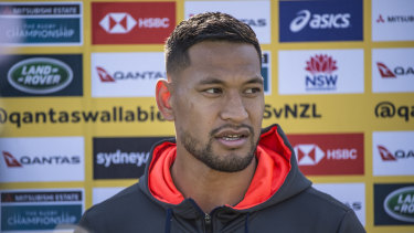 In the spotlight: Israel Folau's religious views took centre stage in 2018.