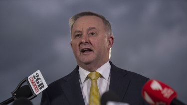 "Anthony Albanese says he will focus on ""creating wealth, not just redistributing wealth""."