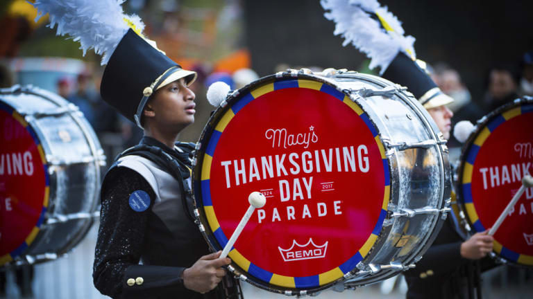 The 91st Macy's Thanksgiving Day Parade.