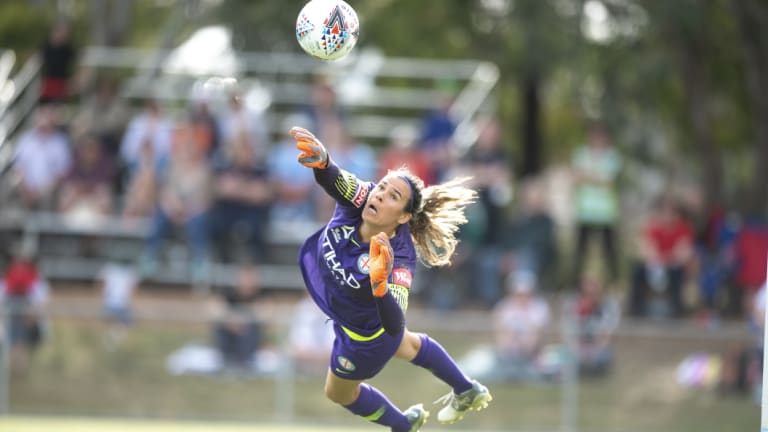Matildas and Melbourne City goalkeeper Lydia Williams will help shape what FFA's new-look board will look like.
