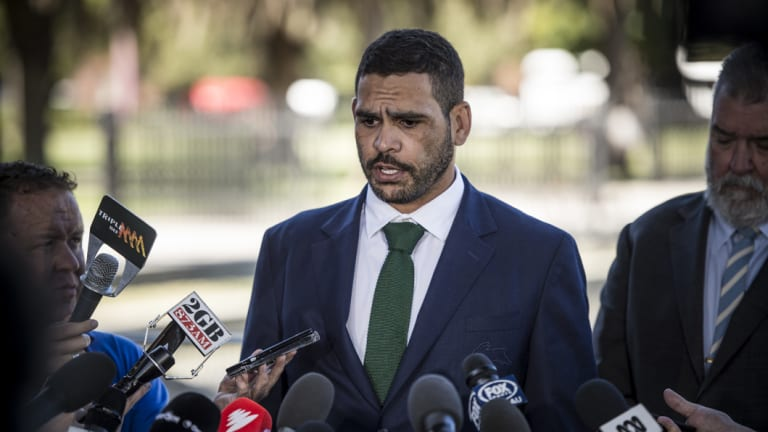 GI blow: Souths captain Greg Inglis was charged with drink driving. Does that not hurt the image of the game?