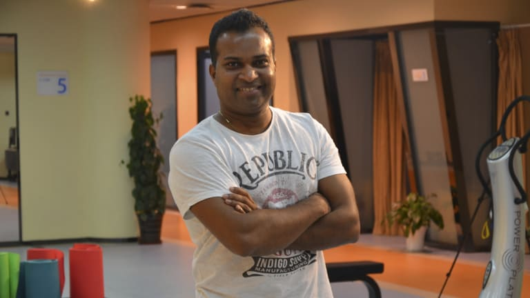 Kusal Goonewardena, founder of the Elite Akademy physiotherapy clinic, says breaking up the static nature of standing is key.