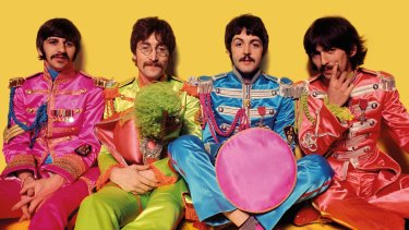 Sgt Peppers Lonely Hearts Club Band.