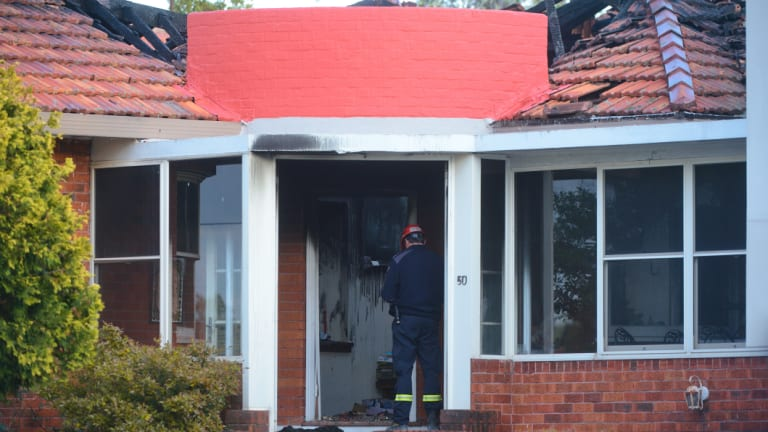 Fire inspectors and police will be investigating the cause of the blaze.