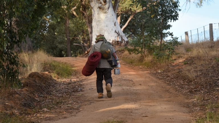 The romance of a swagman's life.