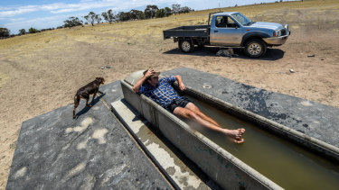Many parts of Australia are forecast to swelter on Monday.