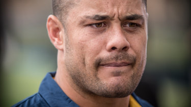 Jarryd Hayne has been charged by police.