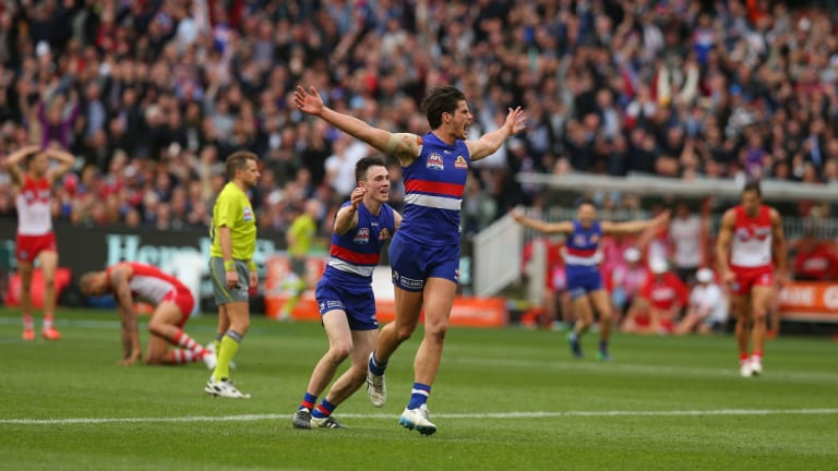 Boyd played a pivotal role in the Western Bulldogs' grand final triumph.