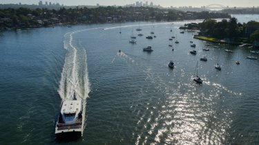 A population boom along the banks of the Parramatta River is adding to demand for ferry services.