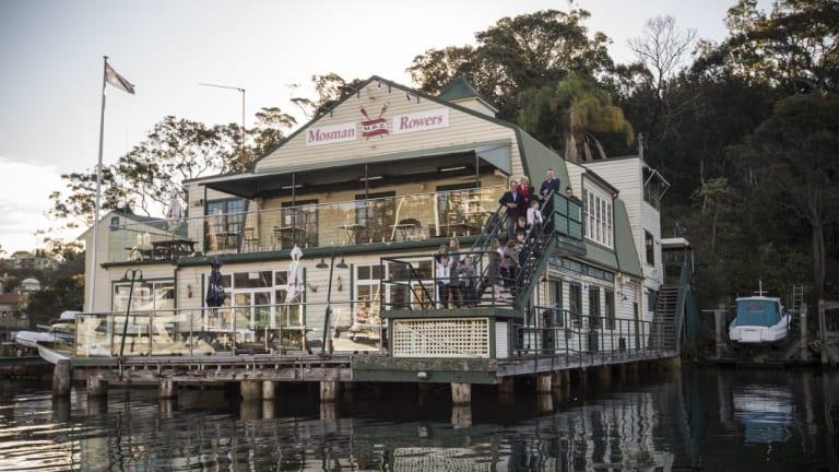 Mosman Rowers Club has had a presence on the site since 1911.