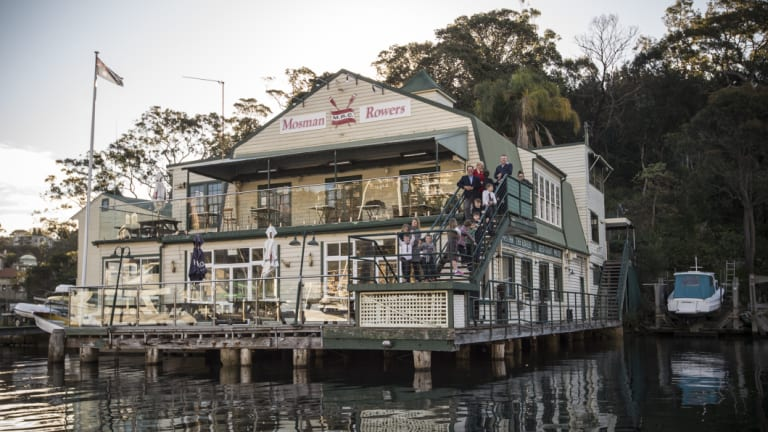 Mosman Rowers Club has had a presence on the site since 1911.
