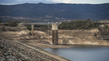 The Berejiklian government is considering a proposal to fast-track new water infrastructure including dams, pipelines and bores.