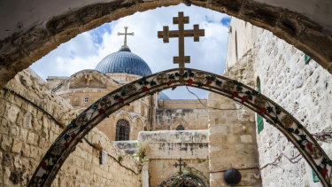 "Holy city of Jerusalem: ""There is a strong case to be made that an embassy move may help unlock the peace-process deadlock."""