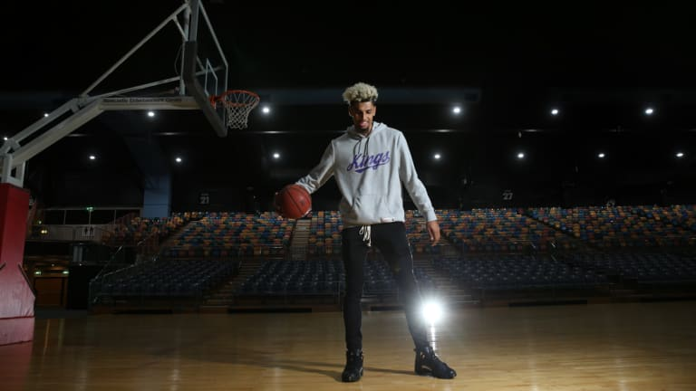 Brian Bowen is adjusting to life in a new country.
