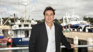 Dominic Galati is in a dispute over control of the fish markets.