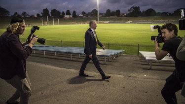 In the box seat: Anthony Albanese would be made leader unopposed if Jim Chalmers pulls out.
