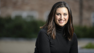 """Jamila Rizvi: """"If you grow up in Canberra there's a level of politics that is in your blood."""""""