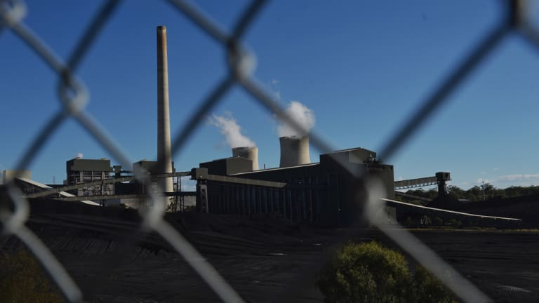 AGL's Bayswater coal-fired power station.